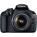 Canon EOS Rebel T5 II Kit 18MP Digital SLR Camera with EF-S 18-55mm Lens - Black $399.99