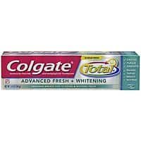 Amazon Deal: 2-Pack of 5.8oz Colgate Total Advanced Fresh + Whitening Toothpaste $3.60 (or $3.12 w/ 5+ S&S) + Free Shipping