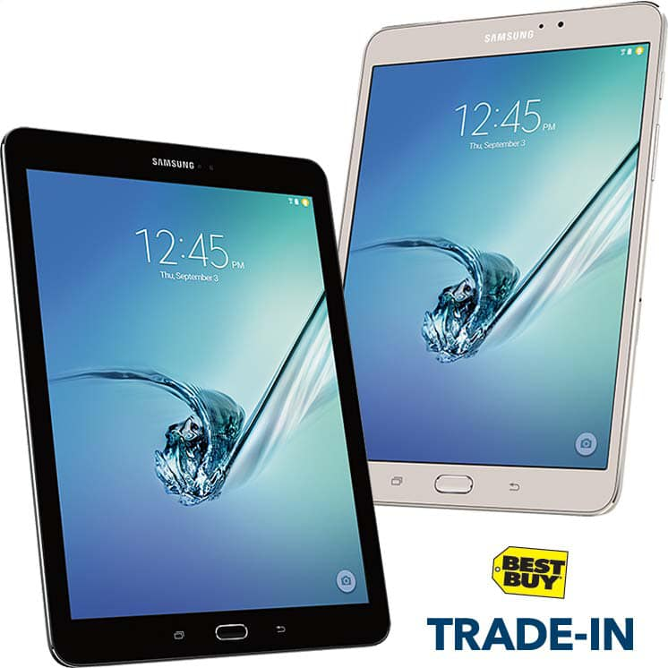 Best Buy: Trade-in a Working Tablet for $50 off Galaxy Tab S2 + ...