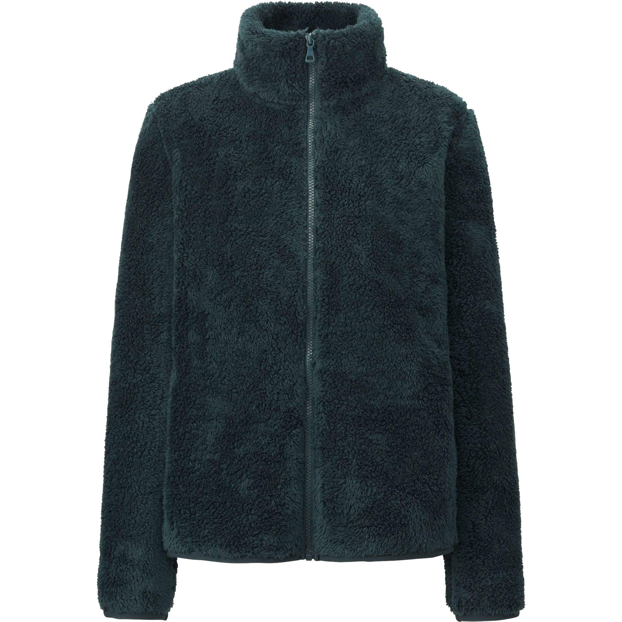 UNIQLO Fleece Jackets: Men's Full Zip or Women's Fluffy Yarn ...