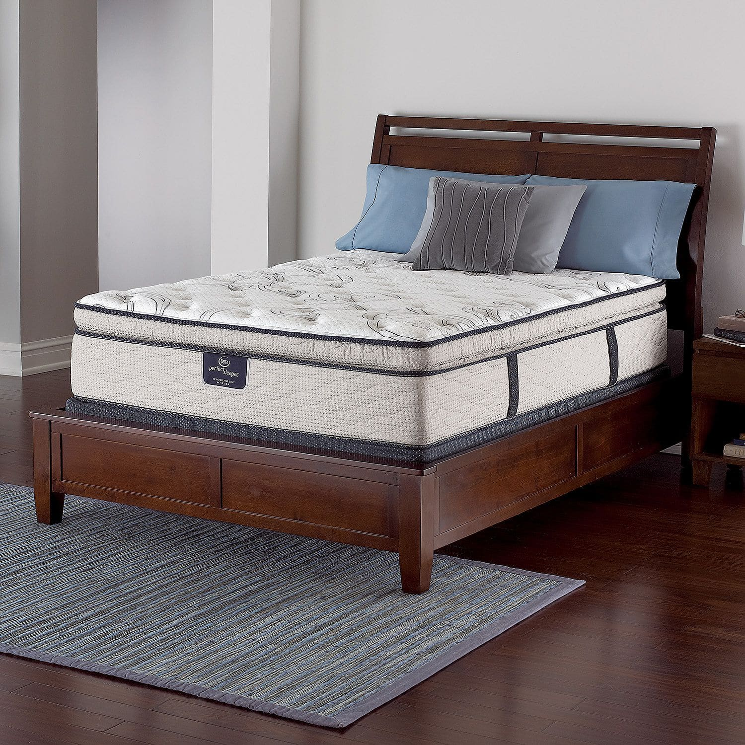 Serta Perfect Sleeper Castleview Spt Mattress Set Queen Slickdeals