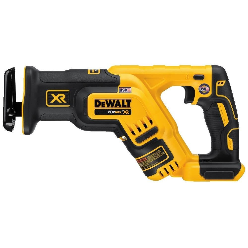 dewalt 20v battery 5ah. dewalt 20v max xr brushless reciprocating saw + 5ah battery - slickdeals.net dewalt 20v 5ah v