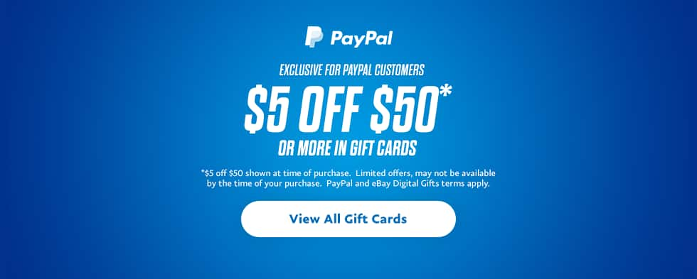 PayPal Digital Gifts: Additional Savings on Gift Card Purchase ...