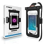 FRiEQ Universal Waterproof Case Bag with External Earphone Jack $13.49 AC/FSSS on Amazon