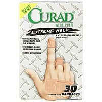 Amazon Deal: Curad Extreme Hold Bandaids 30 Count 2.23 or less with S&S