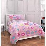 Mainstays Kids Daisy Floral Bed in a Bag Twin  Bedding Set $28.88 + Free Pickup  ( or FREE shipping on orders $35 )