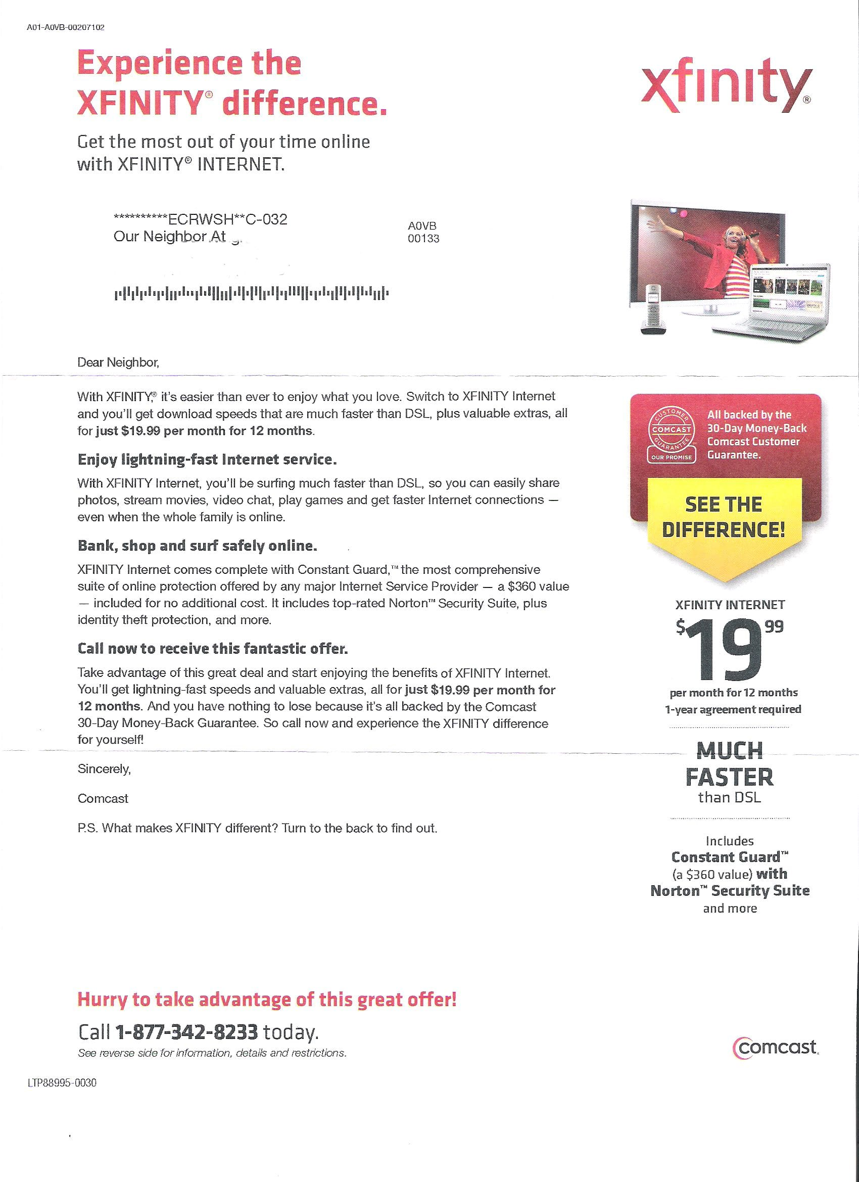 Comcast deals md