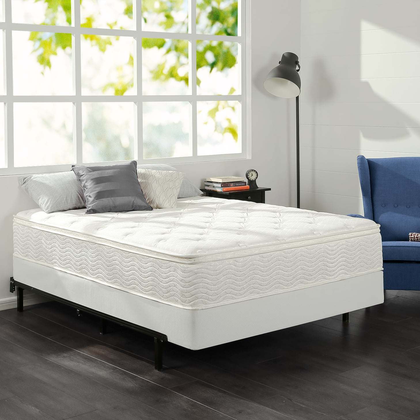 Zinus 12 Comfort Firm Spring Mattress From 116 10 Twin Plus Free