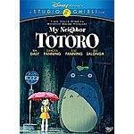 My Neighbor Totoro DVD Prime Shipped for $12.96. Plus other Miyazaki films!!