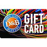 $50 for $60 Dave & Busters eGift Card