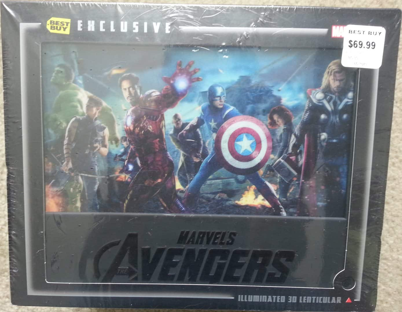Avengers 3D Best Buy Exclusive gift set - $19.99 - **Now online as well**