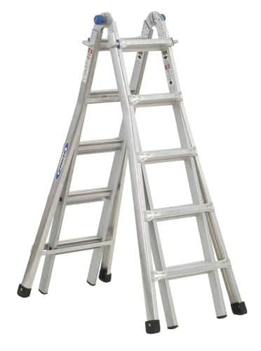 $129+FS Home Depot ,Werner MT-22 300-Pound Duty Rating Telescoping Multi-Ladder, 22-Foot