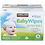 Costco Baby Wipes 900 ct $16.49 starting 8/6 ($0.018/wipe)