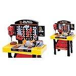 World Tech Toys | 54 Piece Tool Bench Work Set $29.95 + ship @jane.com