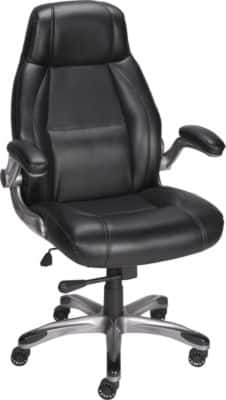 Staples Torrent Bonded Leather Managers Chair Black