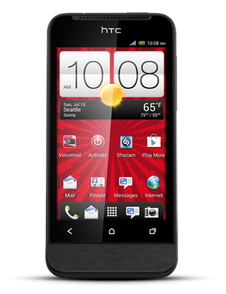 Virgin Mobile HTC One V Prepaid Smartphone + $10 off $10+ Future Purchases Coupon $51 + Free Shipping