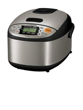 Zojirushi Rice Cookers: NS-WAC10 Micom Fuzzy-Logic 5.5-Cup $100, NS-WAC18 Micom Fuzzy-Logic 10-Cup $107, NS-LAC05 Micom 3-Cup $95 & More + Free Shipping (new customers)