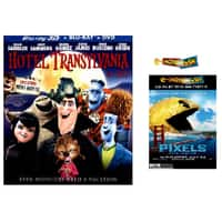 Best Buy Deal: Hotel Transylvania (Blu-ray/3D/DVD) + $7.50 Pixels Movie Cash