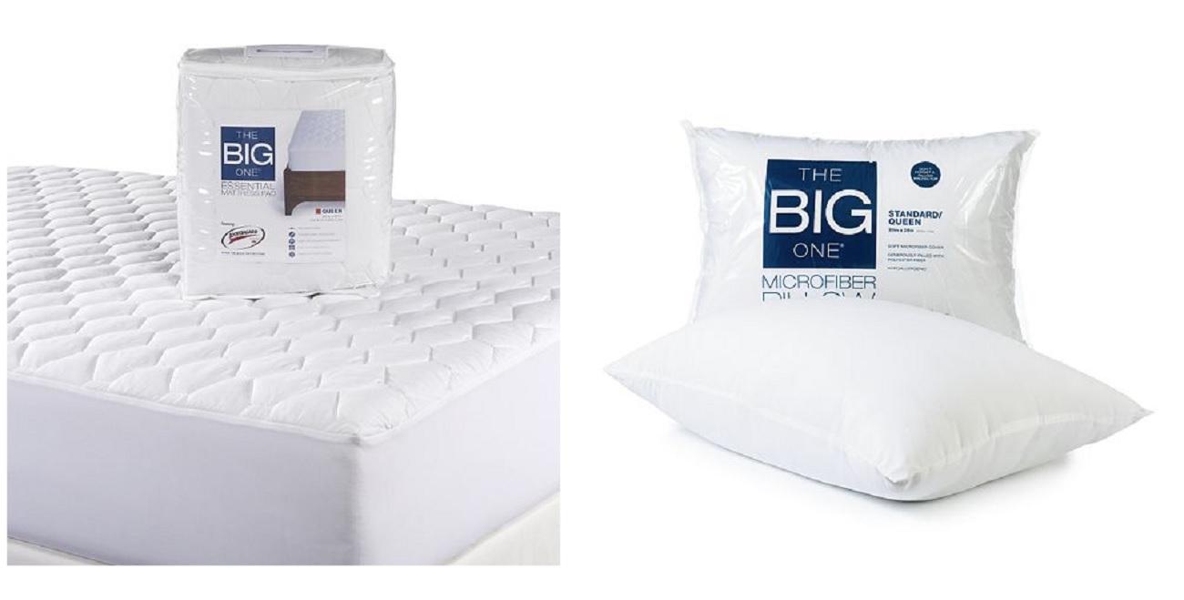 New The Big One Essential Mattress Pad Full Standard Pillow Slickdeals net