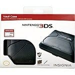 Insignia Vault Case for Nintendo 3DS and 3DS XL $3.99 & More + Free Store Pickup @Best Buy