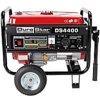 eBay Deal: DuroStar 4400 Watt Quiet Portable Recoil Start Gas Powered Generator DS4400 $249.99 + Free Shipping