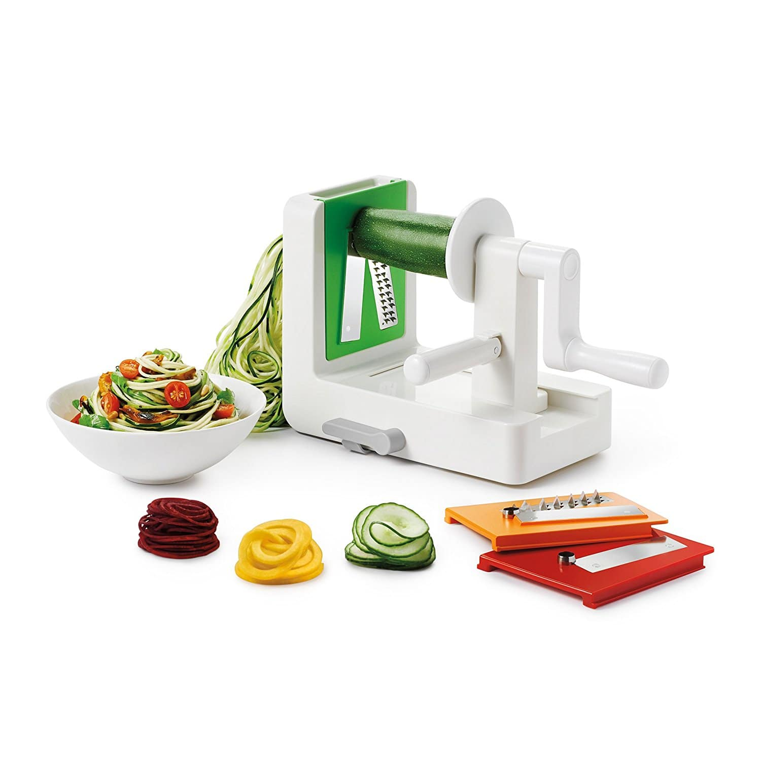 OXO Good Grips 3-Blade Spiralizer w/ StrongHold Suction ...