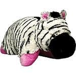 Pillow Pet Zippity Zebra- $6.35, Friendly Frog- $7.43 at Walmart.com!