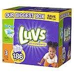 Luvs With Ultra Leakguards Diapers, Amazon mom S&S [$20.99+tax]