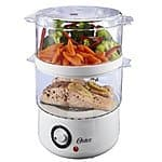 Oster CKSTSTMD5-W 5-Quart Food Steamer, White $13.35 & FREE Shipping w/Prime