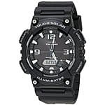 Casio Men's AQ-S810W-1AV Solar Sport Combination Watch $29.60 & FREE Shipping w/ Prime