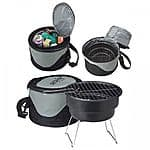 Cooler Bag with Portable Mini BBQ Grill  $22.99 + Free shipping @ ebay