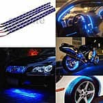 15-LED 12V Flexible Car Light Strip 5-Pack for $4 w/ FS via eBay