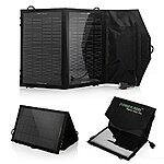 Poweradd 7W Foldable Solar Panel Charger for $14.99 AC + FSSS or FS w/ Prime @ Amazon.com