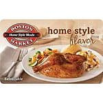 $25 Boston Market Gift Card for $20, $100 The Limited Gift Card for $85 + Free Shipping (eBay Daily Deal)
