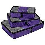 Ecosusi Breathable Travel Packing Cubes 3 Pack Set - $15.91 AC + Free Prime Shipping @ Amazon
