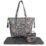Ecosusi Multicolor Floral Diaper bag Polyester Nappy Bag (2 Styles) - $15.49 AC + Free Shipping @ Amazon