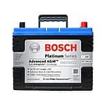 Bosch Platinum Series AGM Battery at Pepboys $110 after $25MR, tax incl'd