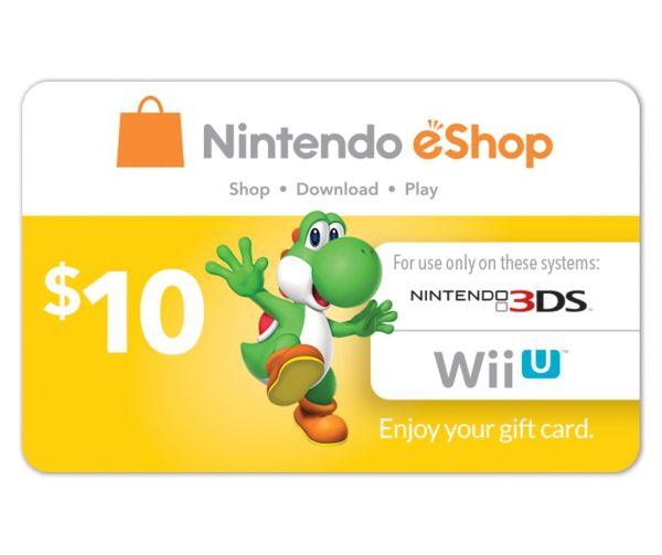 $10 Nintendo eShop Gift Card (Digital Delivery) - Slickdeals.net