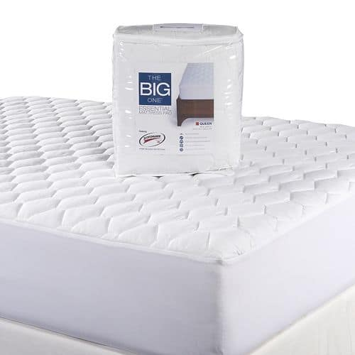 Fresh The Big One Percale Sheet Set any size Essential Mattress Pad Slickdeals net