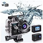 "Indigi HD 1080P Sports DV Action Camera Camcorder 1.5"" LCD HDMI WiFi $64.99 + free shipping @ rakuten"