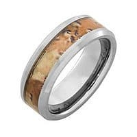 Tanga Deal: BOGO Light Tungsten Mens Ring - 2 for $13