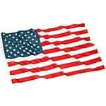 3' x 5' American Flag w/ Metal Grommets $2.88 shipped