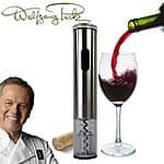 Wolfgang Puck Stainless Steel Electric Wine Opener $19 shipped
