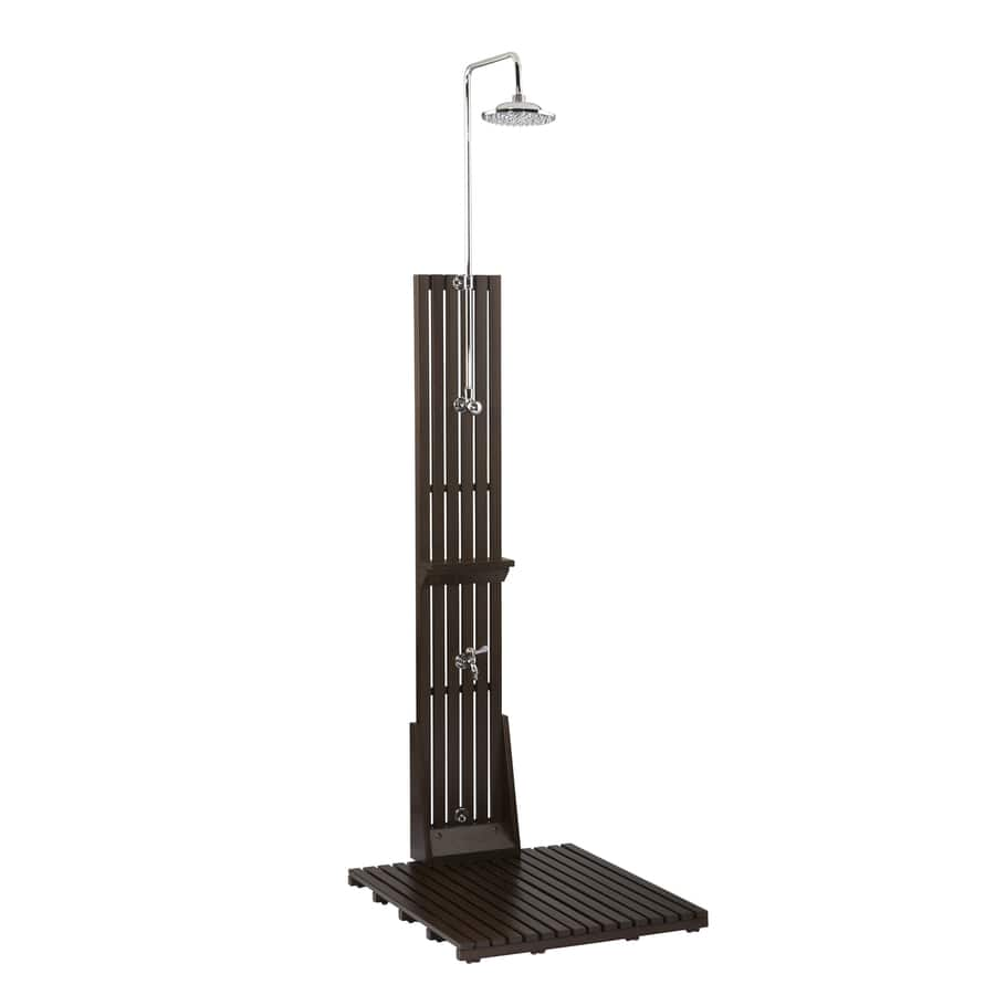 allen + roth Dark Brown Outdoor Shower $49.50 regularly 248.00 Lowes Clearance YMMV