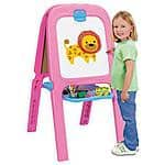 Crayola Pink Double Easel $14 + Free Store Pickup Walmart.com
