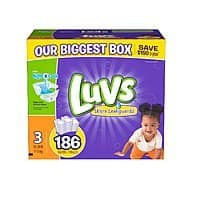 Amazon Deal: Luvs Diaper Packs: Various Sizes & Counts