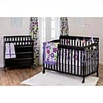 Baby Crib: Dream On Me, Ashton Convertible 4 in 1 Crib @Walmart $149