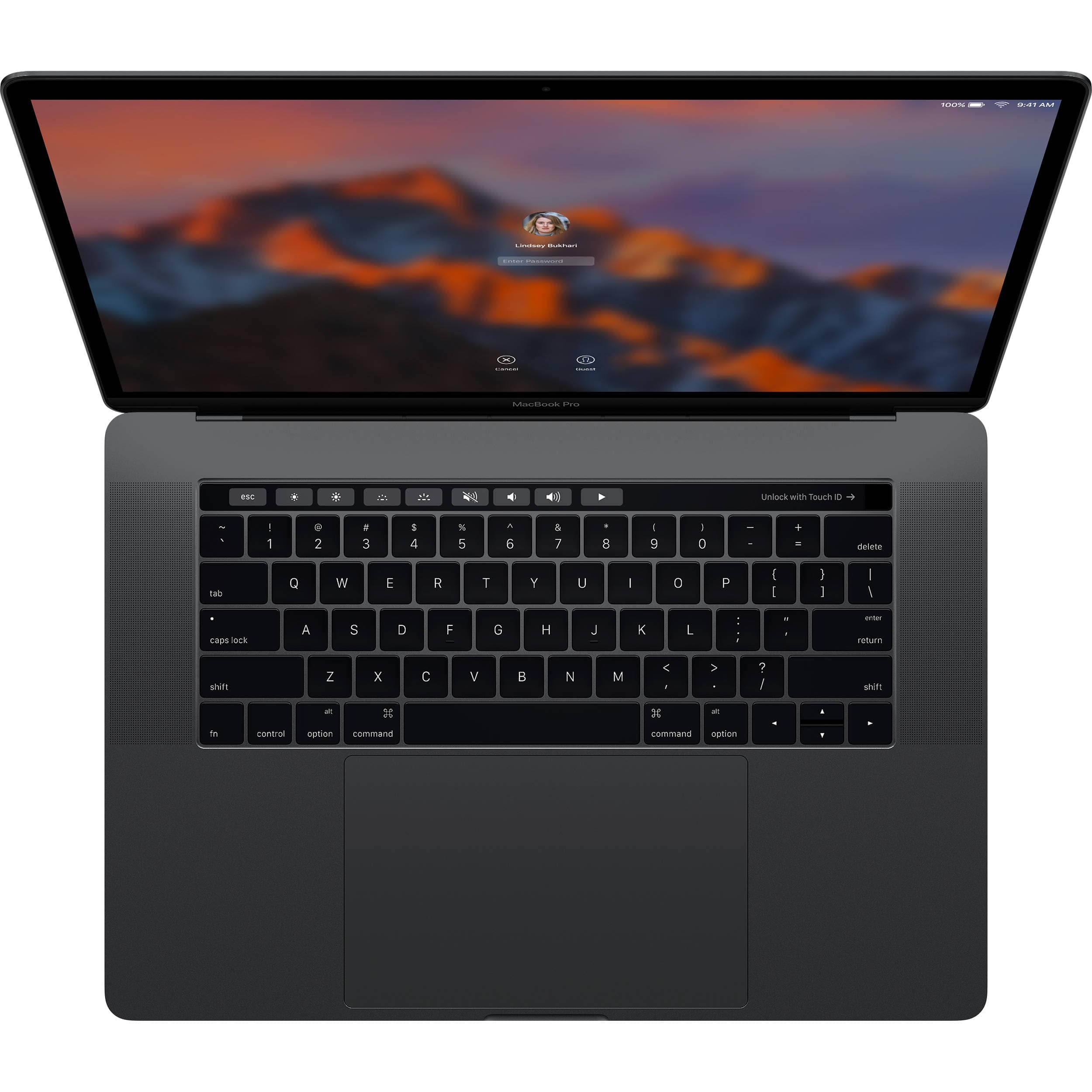 Apple 15 macbook pro with touch bar for 1 799 600 off with no