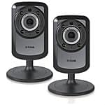 2-Pack D-Link Surveillance Wireless Day/Night Camera w/ Remote View (DSC-934L-2PACK) $74.95 + $3.75 Rakuten Cash + Free Shipping