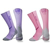 Rakuten (Buy.com) Deal: 2-Pack Thirty48 Full Compression Unisex Socks w/ Catalyst AF Design (Purple/Pink) $23.99 + Free Shipping